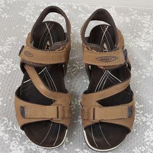 MBT Katika Brown Sandals Women's Size 7.5!